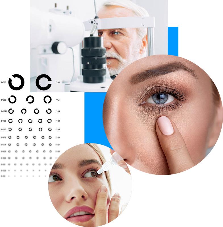 Behandlung von Augenkrankheiten bei Patienten jeden Alters im AugenCentrum Bayreuth und Pegnitz