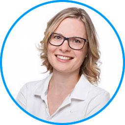 Team des AugenOperationsCentrums: Frau Diana Förster