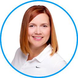 Team des AugenOperationsCentrums: Frau Kerstin Wegmann