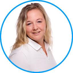Team des AugenOperationsCentrums: Frau Nadine Bayerl