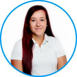 Team des AugenOperationsCentrums: Frau Tanja Bayerlein