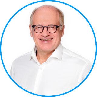 Team des AugenCentrums Bayreuth: Herr Dr. Hans Krehn