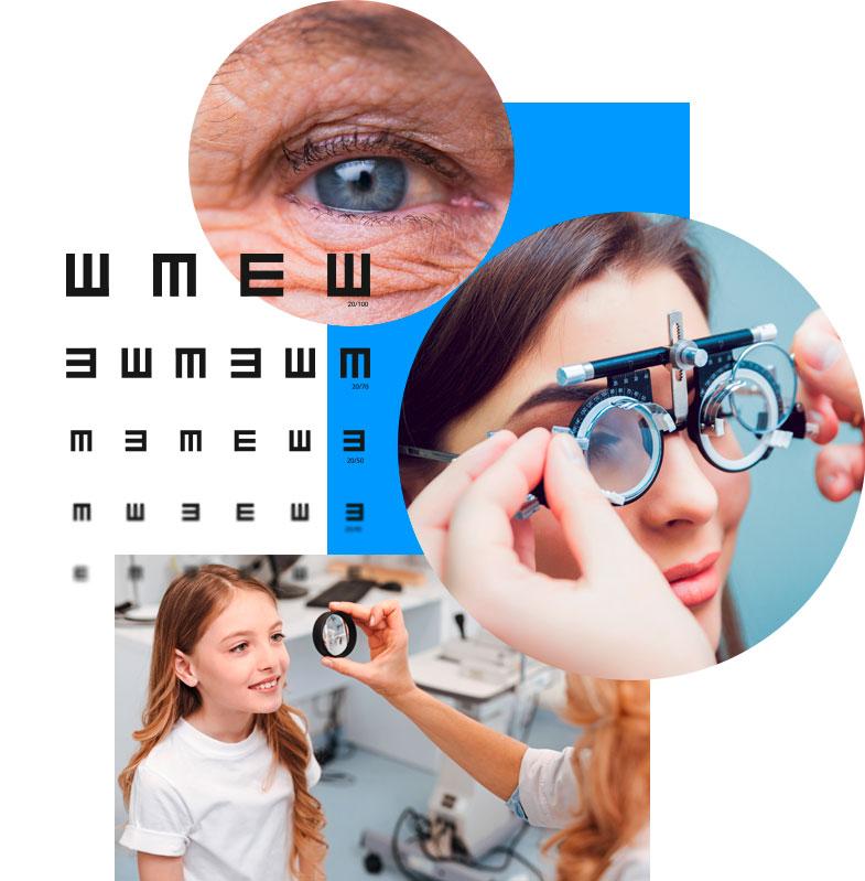 Behandlung von Patienten jeden Alters in der Augenarztpraxis AugenCentrum in Bayreuth und Pegnitz
