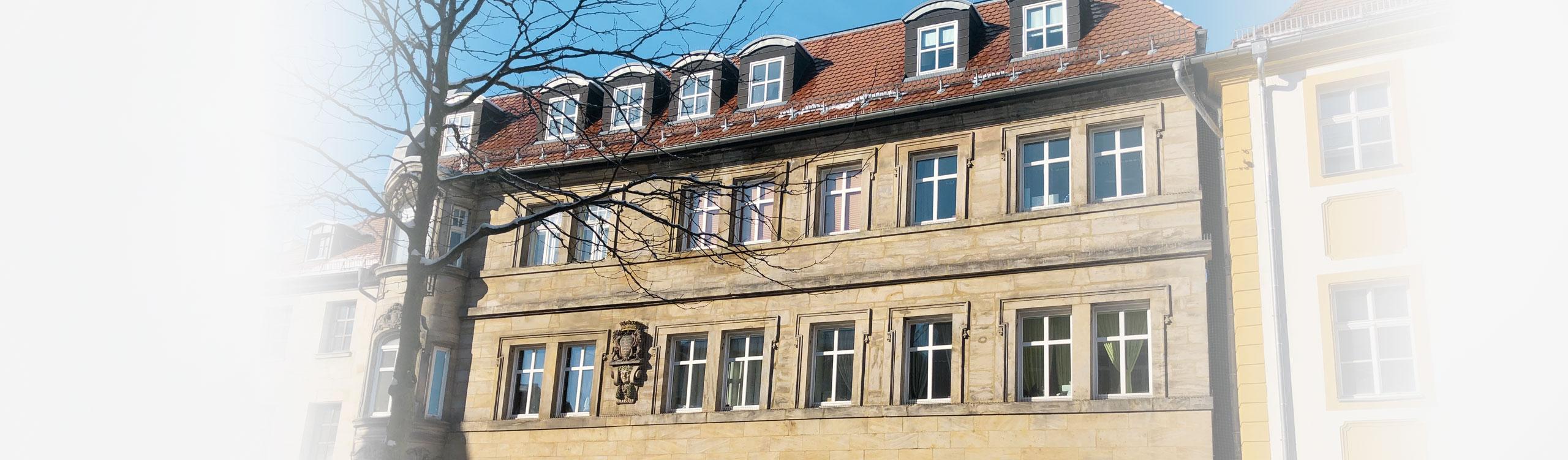 AugenCentrum Bayreuth Gebäudeaufnahme