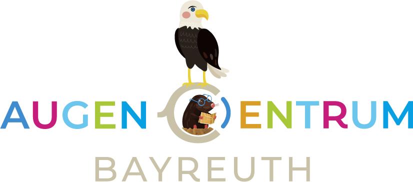 Das Logo der kinderfreundlichen Praxis des AugenCentrums Bayreuth