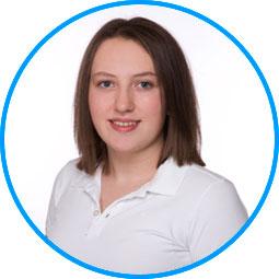 Team des AugenCentrums Bayreuth: Frau Laura Krusch
